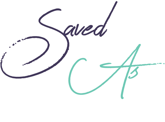 Saved As logo