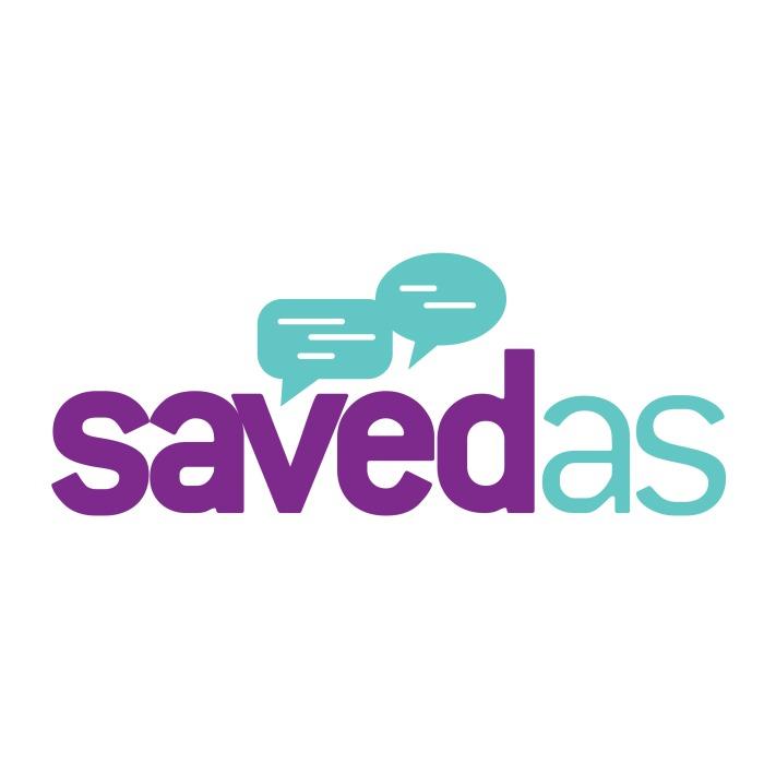 Saved As square logo